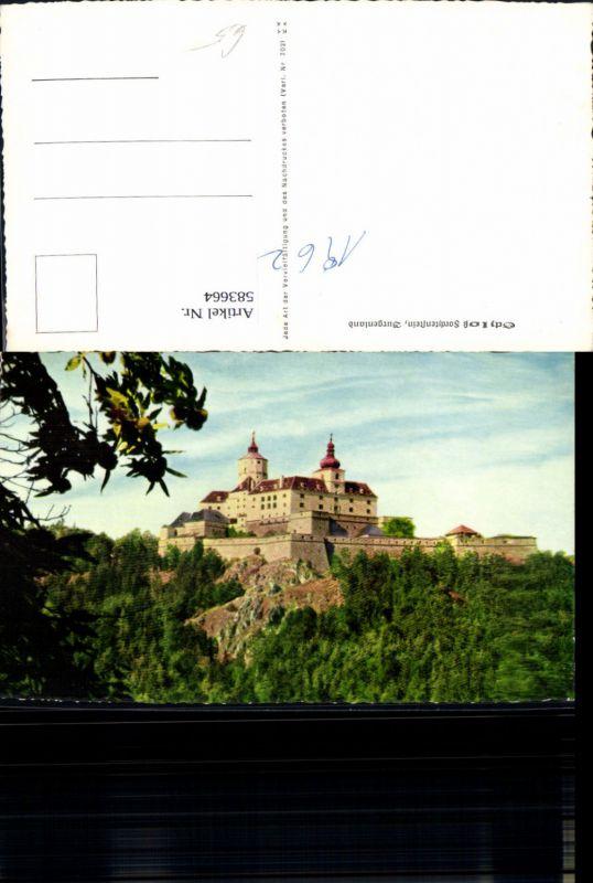 583664,Forchtenstein Burg Schloss Forchtenstein