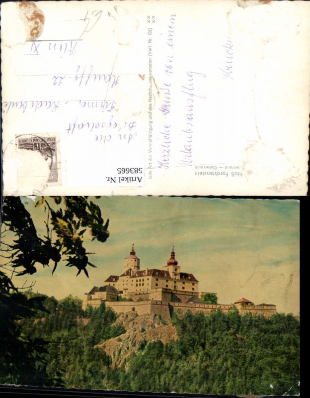 583665,Forchtenstein Burg Schloss Forchtenstein