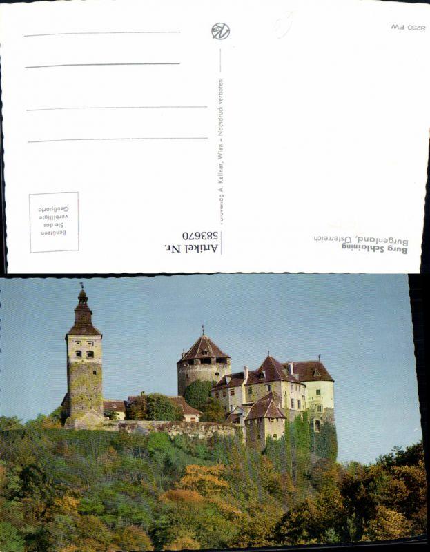 583670,Burg Schlaining Stadtschlaining