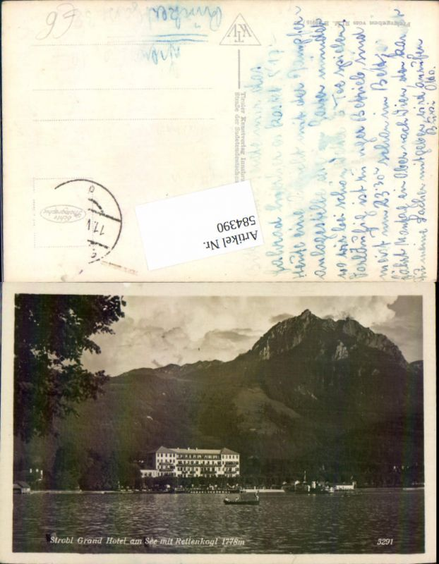 584390,Strobl Grand Hotel am See
