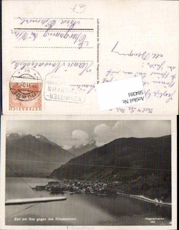 584391,tolle Fliegeraufnahme Zell am See Kitzsteinhorn