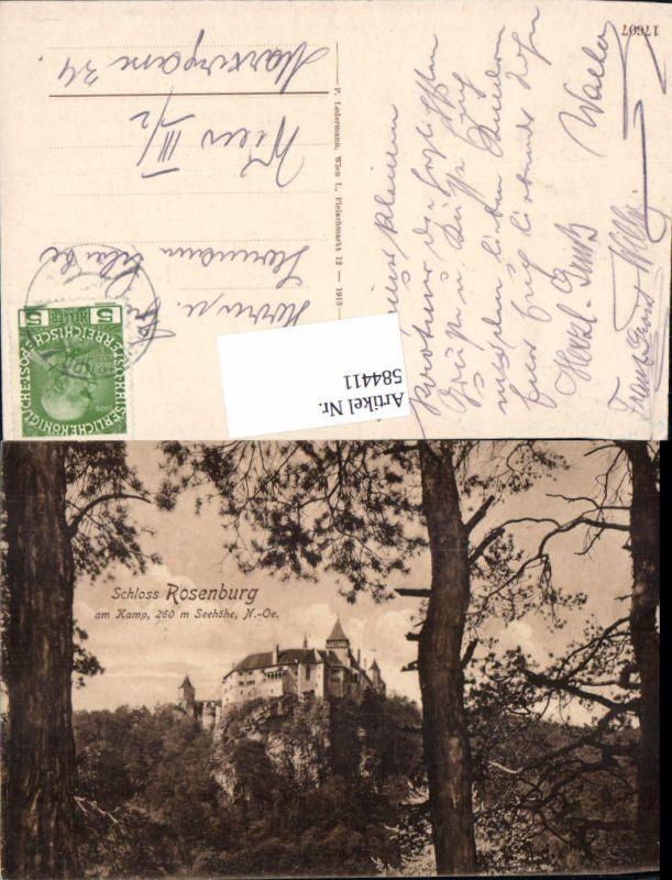 584411,Rosenburg Mold am Kamp b. Horn