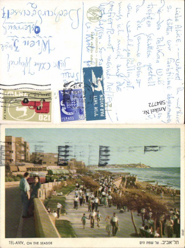 584772,Africa Israel Tel Aviv On the Seaside