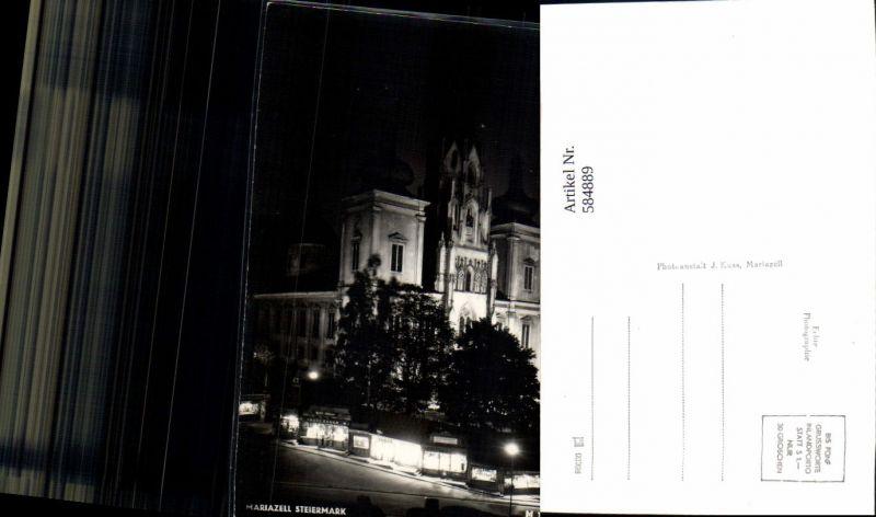 584889,Mariazell Maria Zell bei Nacht
