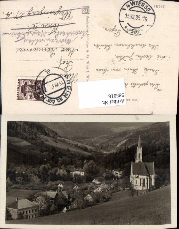 585016,Reichenau an der Rax Prein a. d. Rax Kirche