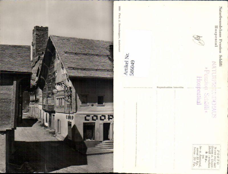 586049,Foto Ak Hospental Naturfreundehaus Pension Schäfli Switzerland