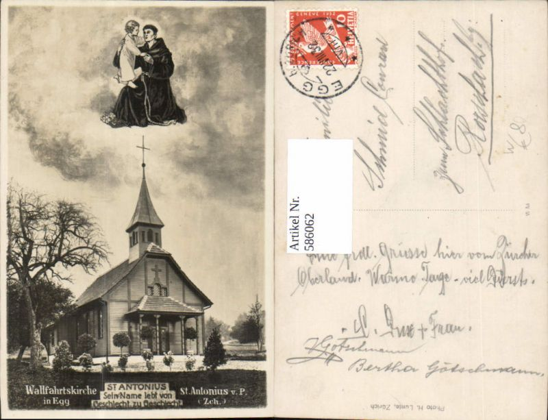 586062,Fotomontage St Antonius Wallfahrtskirche Egg Gnadenbild Switzerland