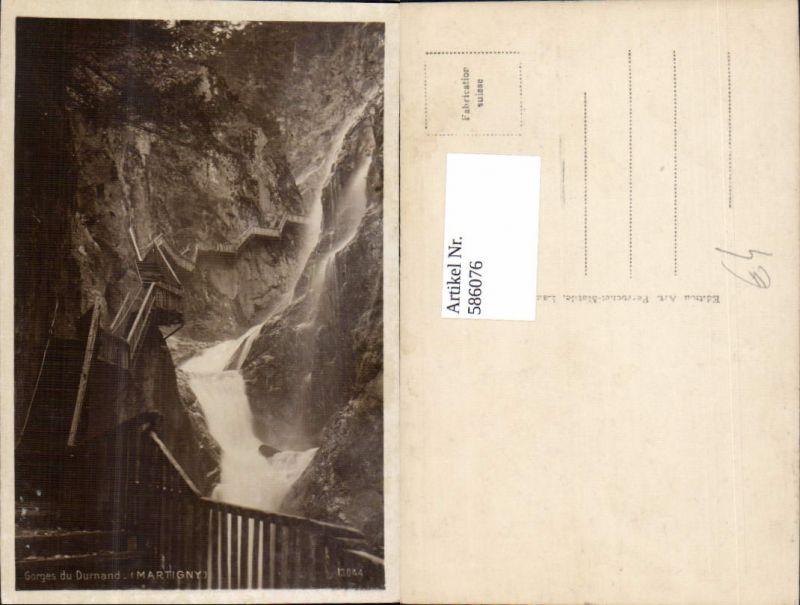 586076,Gorges du Durnand Martigny Wasserfall Switzerland