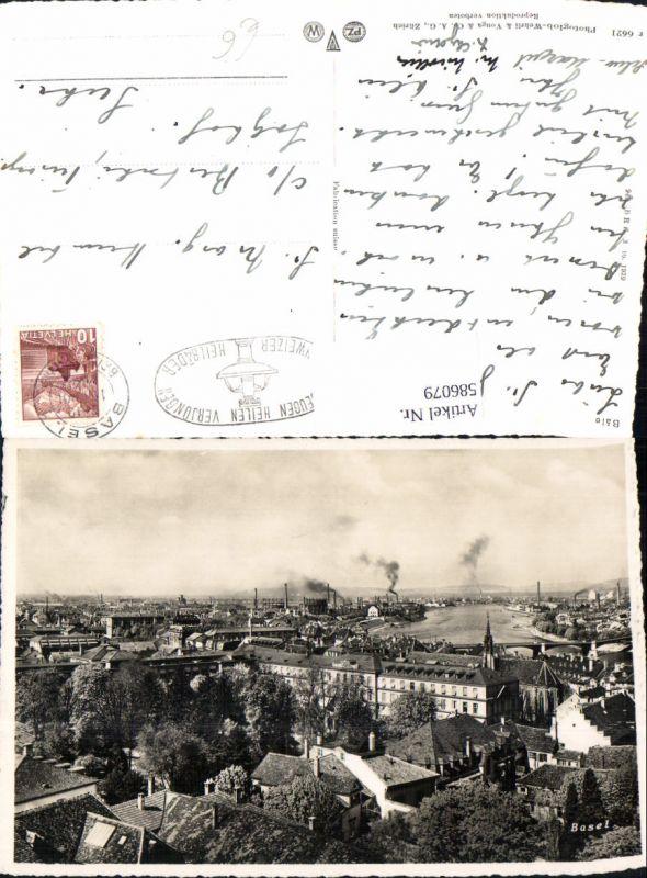 586079,Basel Teilansicht Switzerland