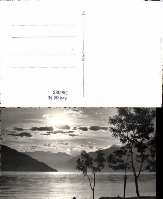 586086,Bei Spiez Ufer Landschaft Switzerland pub Friedrich v. Allmen 109
