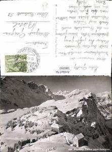 586093,Engelberg Trübsee geg. Juchlipass i. Winter Switzerland