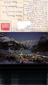 586125,Engelberg b. Nacht i. Winter Switzerland