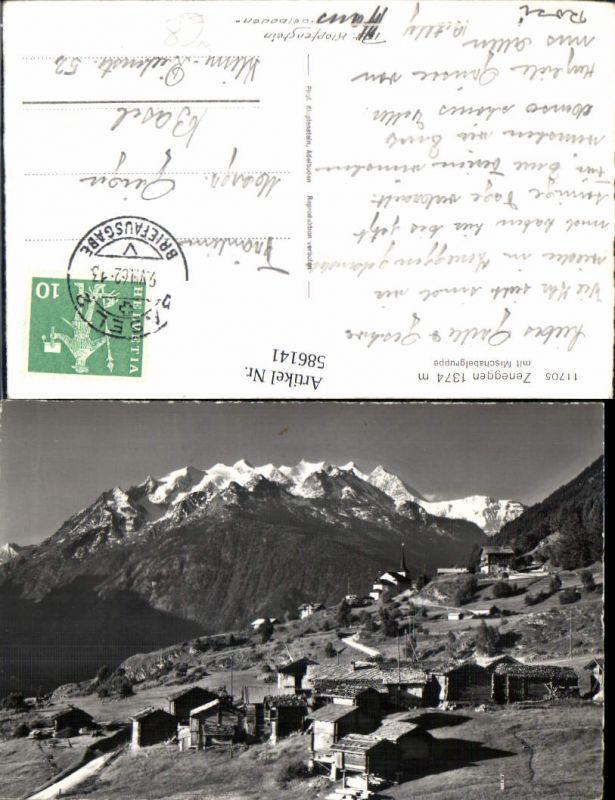 586141,Zeneggen m. Mischalbelgruppe Switzerland