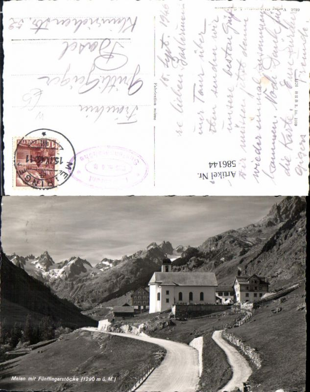 586144,Meien m. Fünffingerstöcke Wassen Switzerland