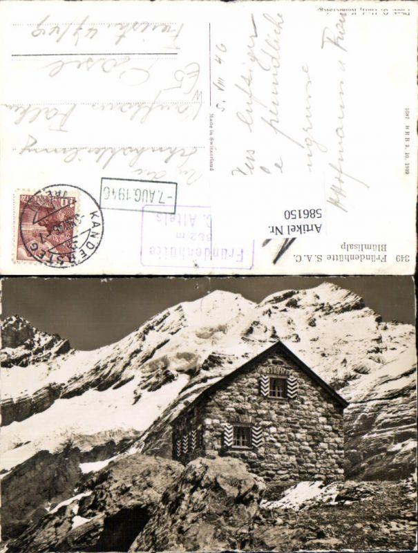 586150,Fründenhütte Kandersteg Switzerland