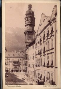 400667,CDV Innsbruck Herzog Friedrichstrasse Goldenes Dachl pub Fritz Gratl