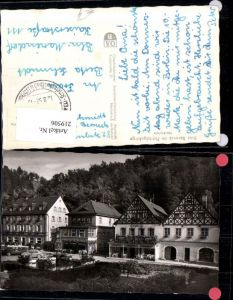219506,Bad Berneck im Fichtelgebirge Marktplatz Platz Brunnen