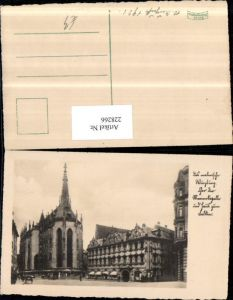 228266,Würzburg Marienkapelle Kirche u. Haus zum Falken