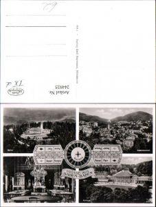 244925,Grüße aus Baden-Baden Totale Merkur Kurhaus Speisesaal Mehrbildkarte