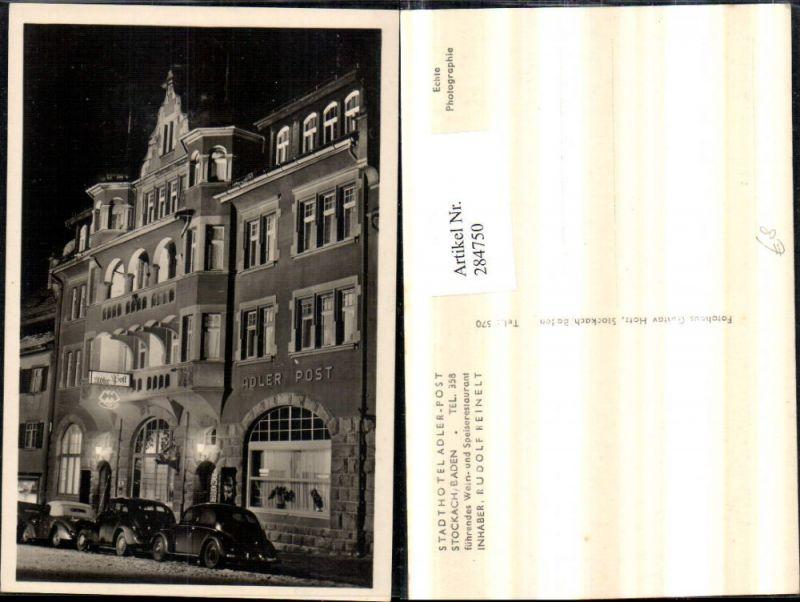 284750,Stockach Stadthotel Adler Post VW-Käfer