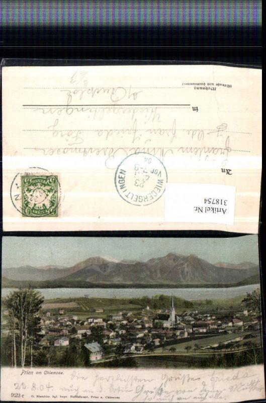 318754,Prien am Chiemsee Totale Bergkulisse