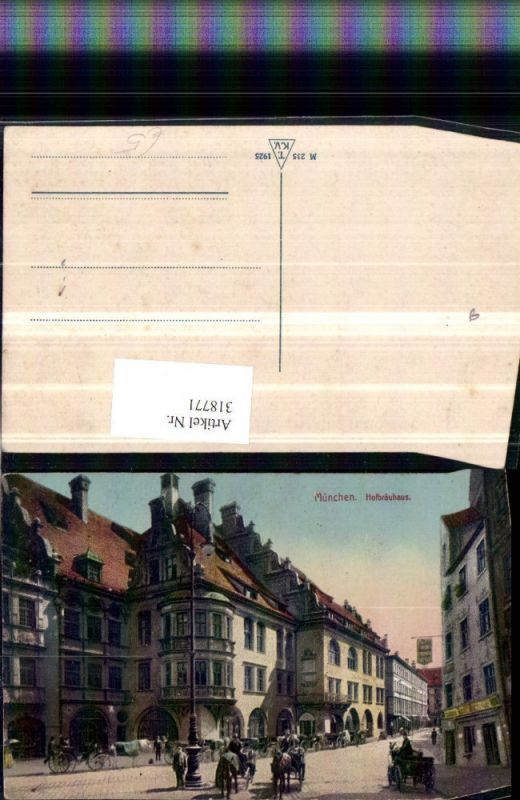 318771,München Hofbräuhaus Brauhaus Straßenansicht