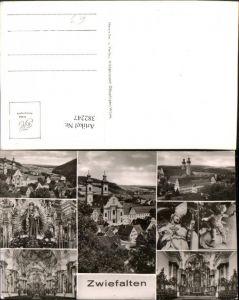 382247,Zwiefalten Totale Kloster Kirche Innenansicht Mehrbildkarte