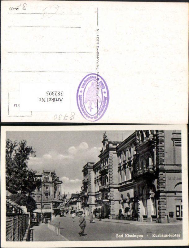 382395,Bad Kissingen Kurhaus Hotel Straßenansicht