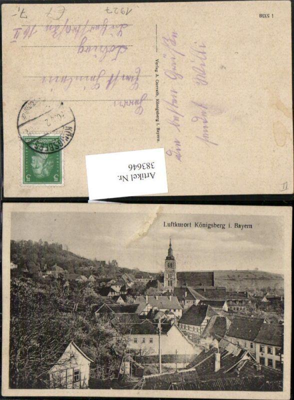 383646,Königsberg in Bayern Totale