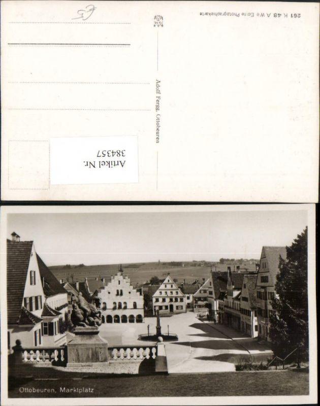 384357.Ottobeuren Marktplatz Platz Rathaus