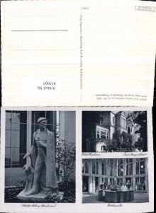 455007,Bad Mergentheim Hotel Kurhaus Denkmal Gehrig Mehrbildkarte