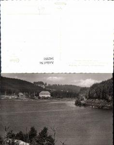 542991,Schluchsee Hochschwarzwald Ansicht Hotel Kurhaus Seebrugg
