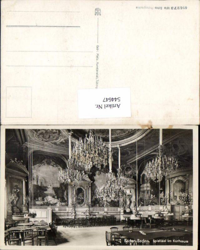544647,Baden-Baden Casino Luster