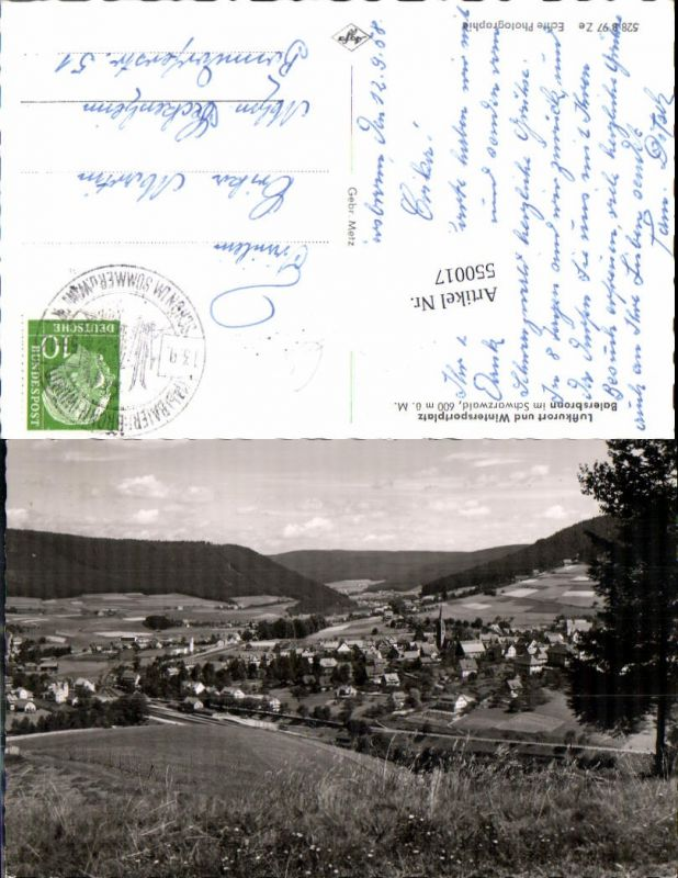 550017,Baiersbronn im Schwarzwald b. Freudenstadt