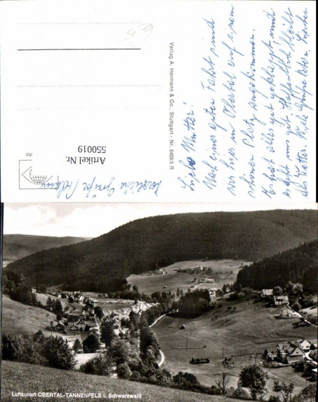 550019,Obertal Tannenfels im Schwarzwald b. Baiersbronn Freudenstadt