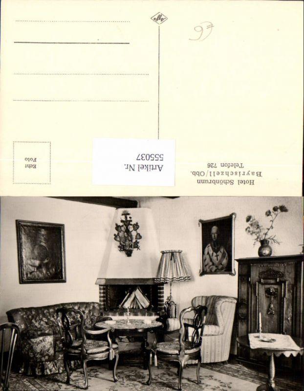 555037,Bayrischzell Hotel Schönbrunn Interieur Lampe Stuhl Thonet Lk Miesbach