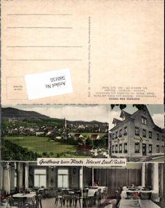 560155,Mehrbild Ak Gasthaus z. Hirsch Lauf Baden