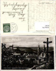 82387,Gössweinstein Blick bom Hochkreuz 1936