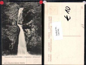 126746,Wasserfall Edelfrauengrab bei Ottenhöfen im Schwarzwald 1905