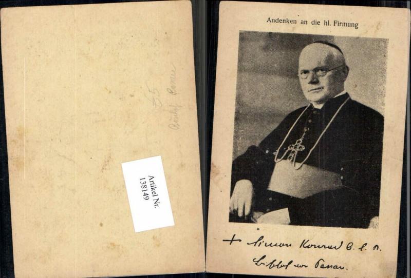 138149,Andenken an d. Hl Firmung Passau Erzbischof