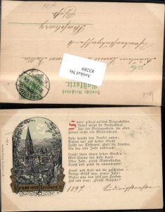 83289,Gruß aus Freiburg im Breisgau Gedicht Rheim Spruch