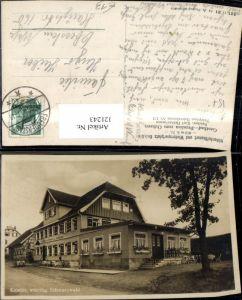 121243,Kniebis Württbg. Schwarzwald Ansicht Gasthaus u. Pension zum Ochsen Bes. Heinzelmann Karl 1941