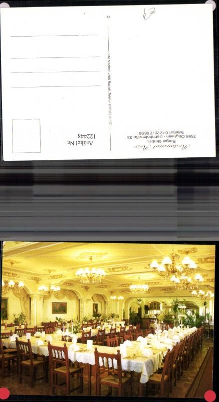 122448,Ötigheim Restaurant Rose Bes. Berger Gmbh Innenansicht Speisesaal