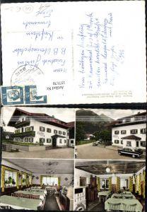 157170,Marquartstein Pettendorf Pension Cafe Restaurant Weßnerhof Bes. Fam. Moritz Mehrbild Ak