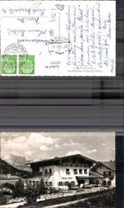 157571,Grenz Gasthaus Neuhäusl-Au b. Berchtesgaden Bes. Franz Hölzl 1956