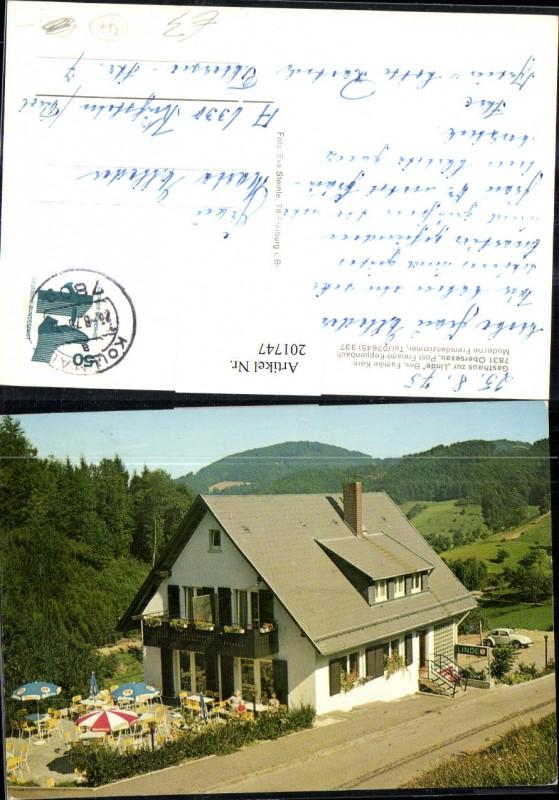 201747,Gasthaus zur Linde in Obersexau Bes. Familie Kern
