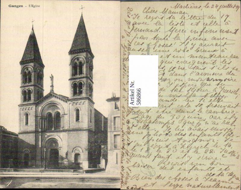 586866,Ganges L Eglise Kirche France