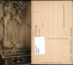 586919,Freiburg im Üechtland Fribourg Cathedrale de St Nicolas Kathedrale Innen Switzerland