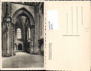 587531,Foto Ak Cathedrale de Lausanne La Chapelle de la Vierge Kathedrale Innen Switzerland