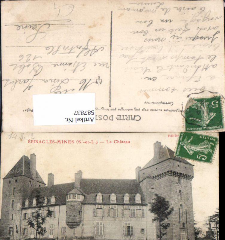587837,Epinac-Les-Mines Le Chateau Schloss France